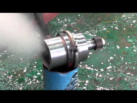 Solar Steam Turbine,Test IV, 10 kW by Dr. Jack Wong