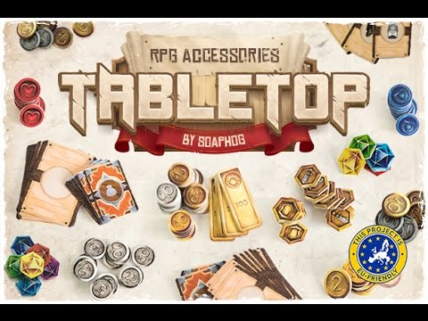 Tabletop RPG Accessories | Indiegogo
