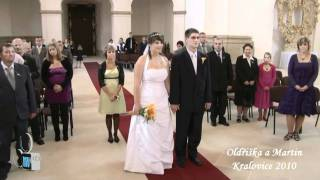 Oldřiška a Martin - Kralovice 2010