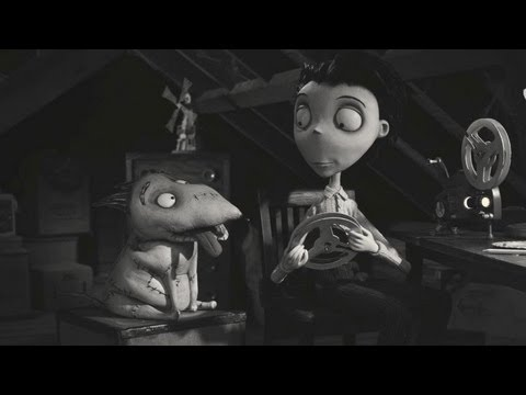 Frankenweenie Short : Captain Sparky Vs The Flying Saucers