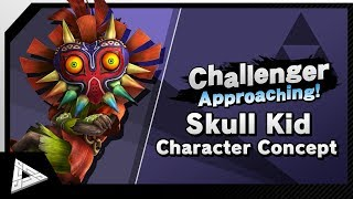Challenger Approaching #16: Skull Kid Character Concept