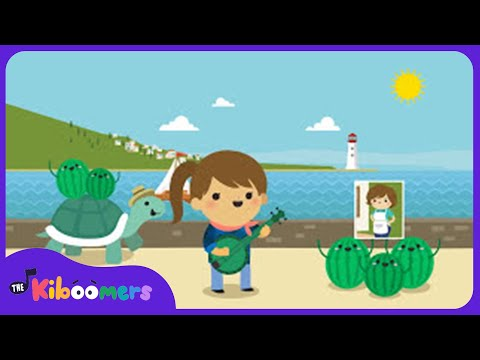 Down By The Bay Song | Silly Rhymes for Preschoolers | The Kiboomers