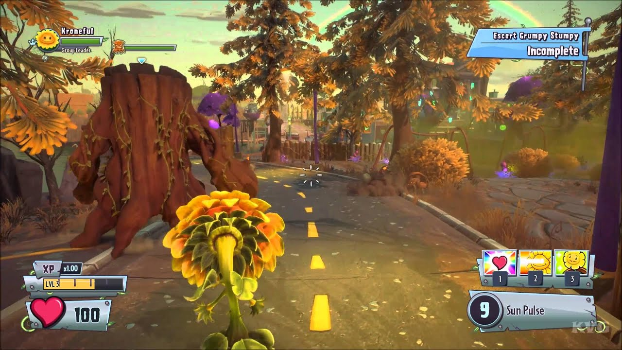Plants vs Zombies: Garden Warfare 2 - Grumpy Stumpy   Gameplay ...