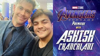 Avengers Endgame Premiere With Ashish Chanchlani