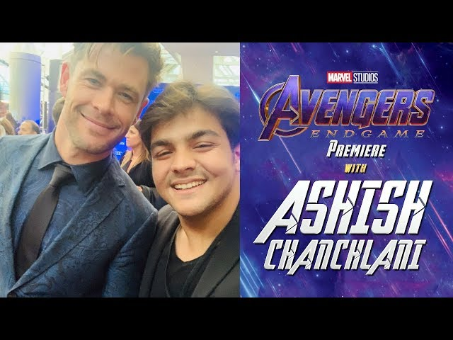 Avengers Endgame Premiere With Ashish Chanchlani