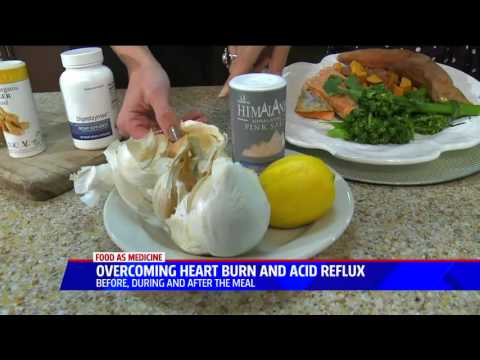 Overcoming Heart Burn and Acid Reflux Before, During and After a Meal