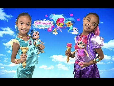 Shimmer and Shine Magical Genie Gem Scepter with Dancing Genies | Toys Academy