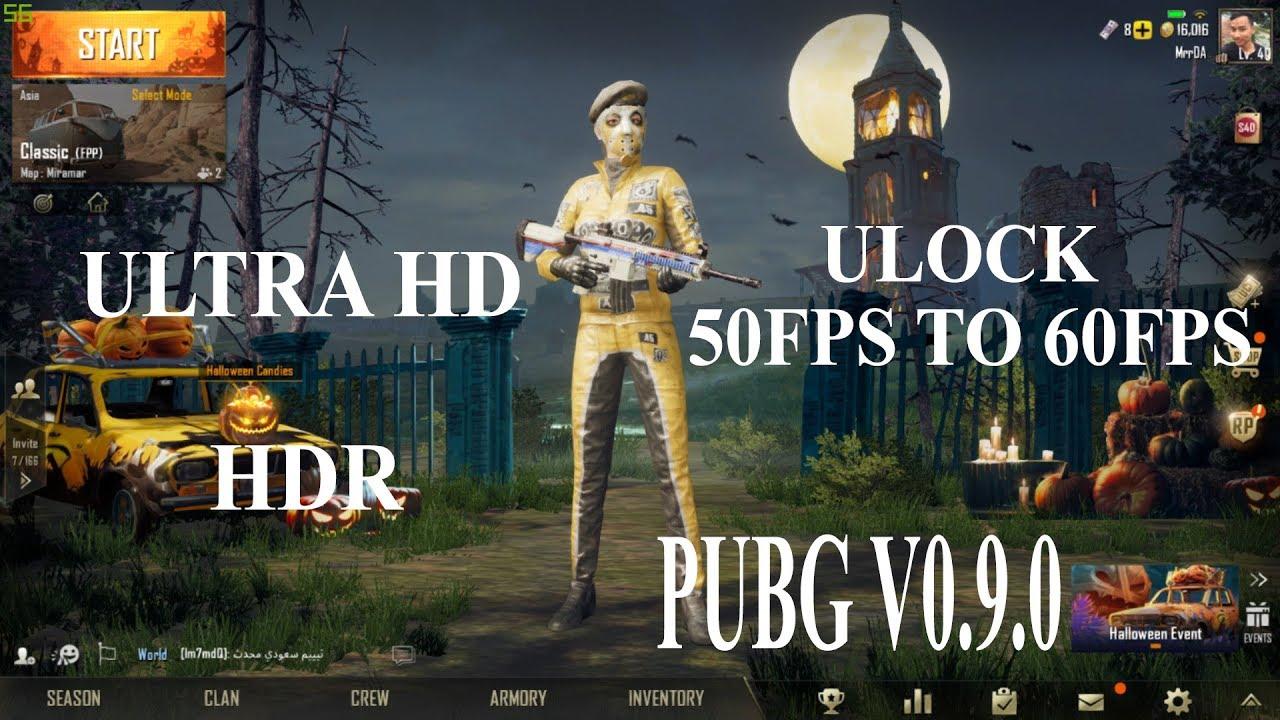 Unlock Hd Pubg: Unlock 60F PSAnd Ultra HD Pubg Mobile V0.9 On Tencent