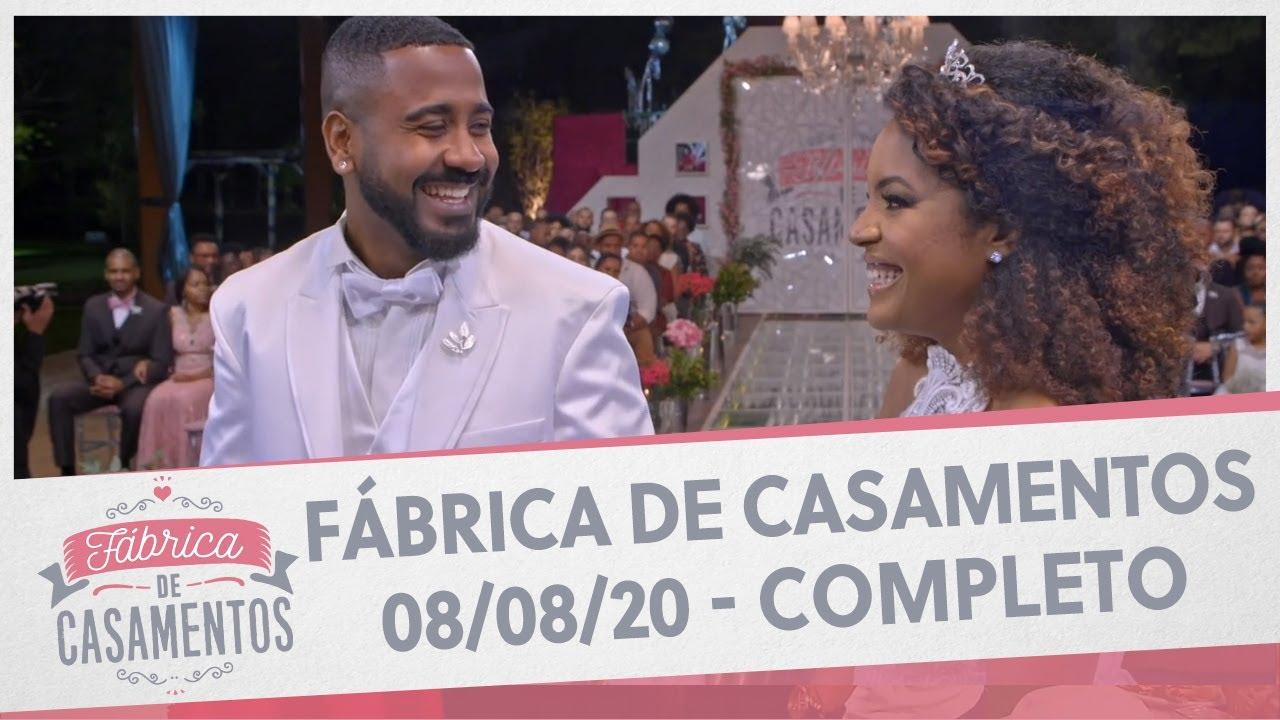 Amanda e Victor | Fábrica de Casamentos - 01/08/20 - Completo