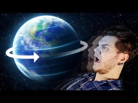 Et Si La Terre Tournait 10x Plus Vite ? (en 360s)
