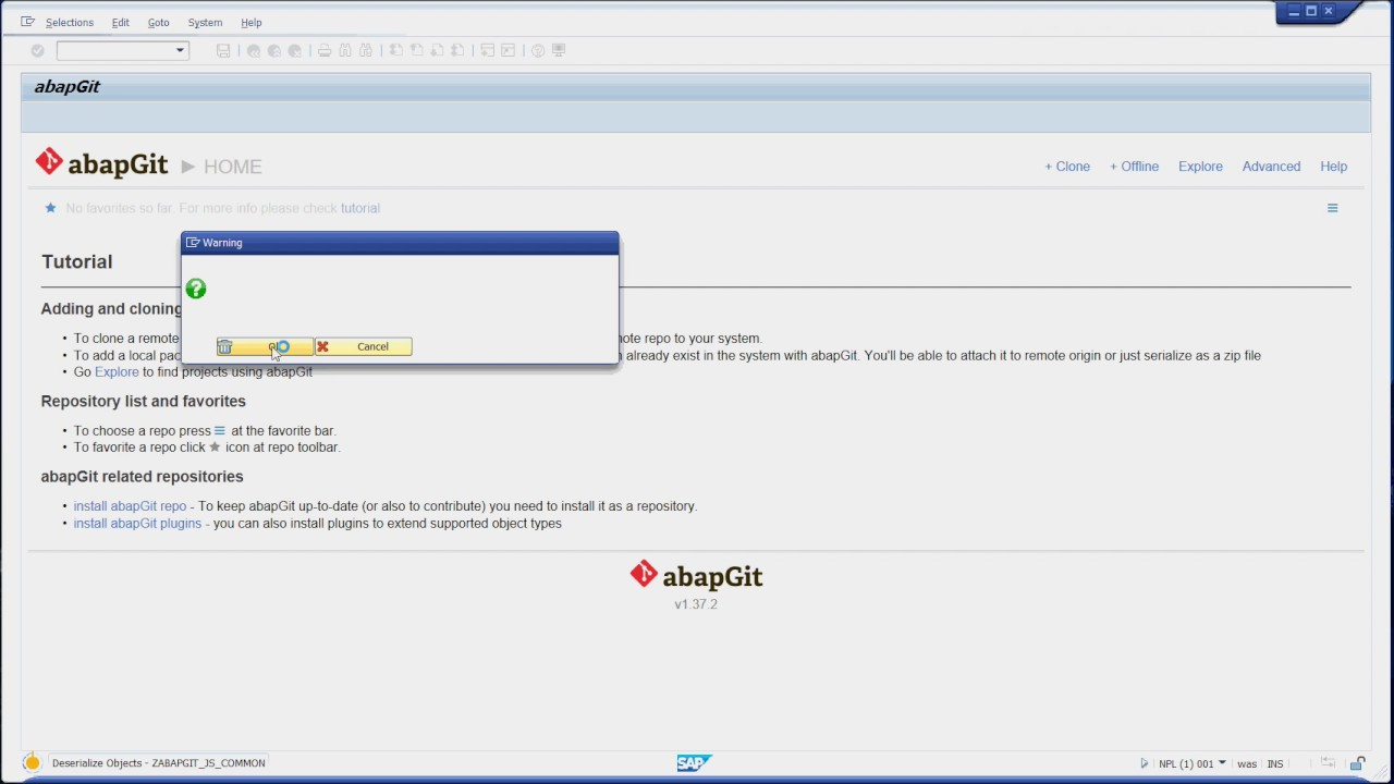 abapGit – so easy | SAP Blogs