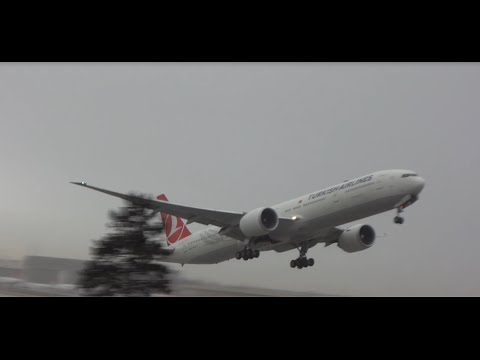 ✈ Istanbul Ataturk Airport From Takeoff LTBA 17R - HD
