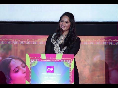 I hate myself for being Beautiful - Anushka   Inji Iduppazhagi (Size Zero) Audio Launch Function