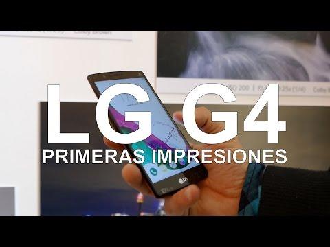 LG G4, toma de contacto