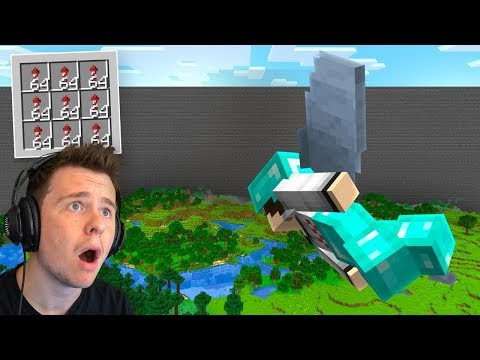 So I tried flying to the end of the map In Minecraft...