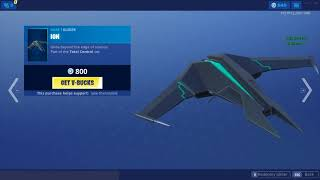 New Vector Skin and Ion Glider in Fortnite Battle Royale