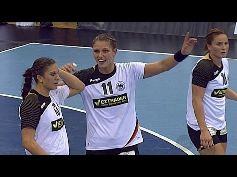 Germany vs. Switzerland - EURO Handball Women Qualification - Full Match 7.10.2015