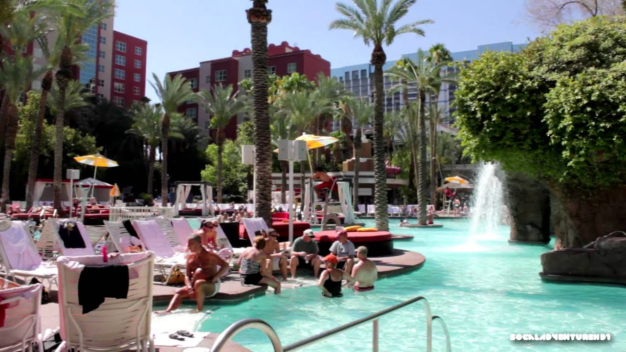 Tour Of Flamingo Go Pool Flamingo Las Vegas Hd Youtube