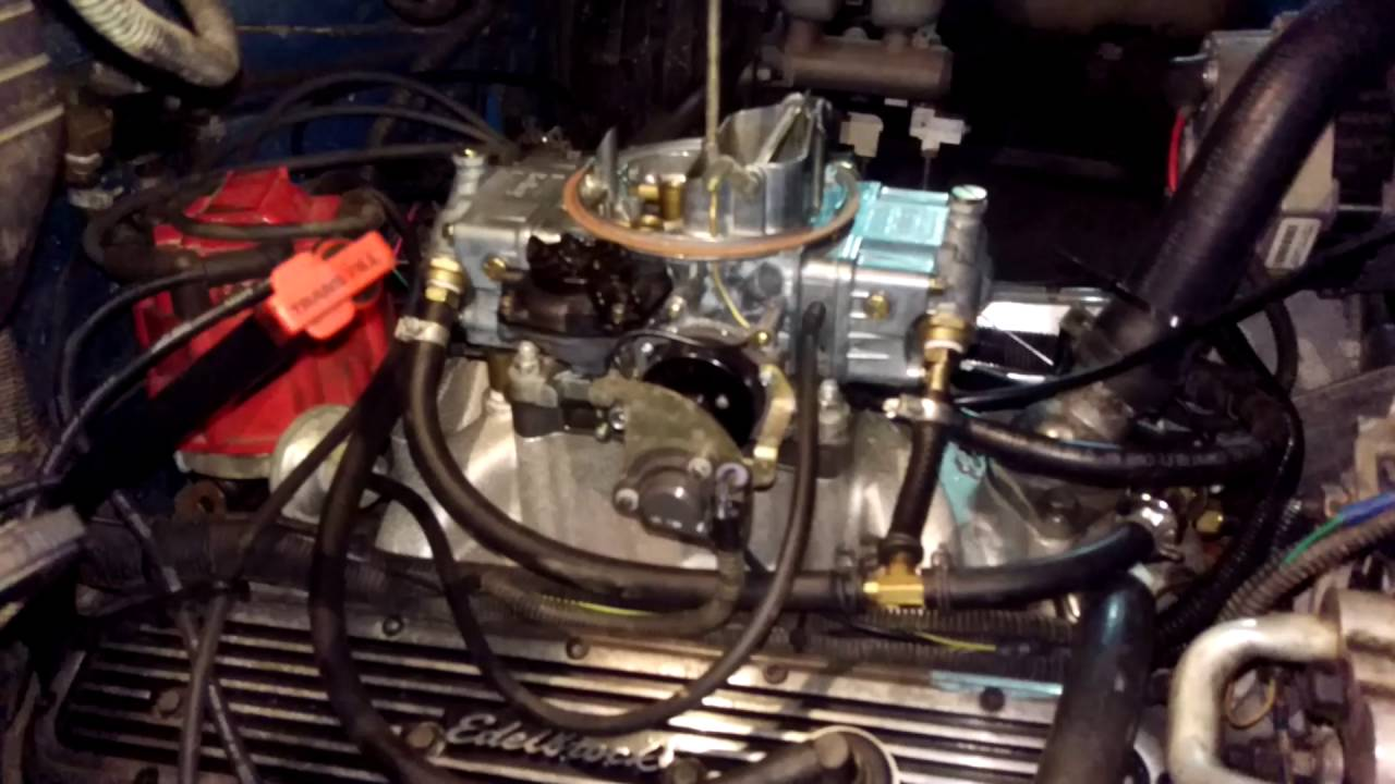 carb swap on 88 95 chevy trucks [ 1280 x 720 Pixel ]