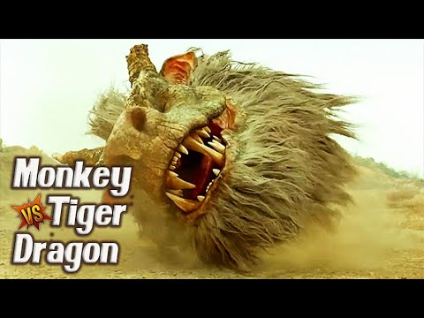 MONKEY vs. TIGER vs. DRAGON: THE MONKEY KING 2 Chinese Fantasy Movie