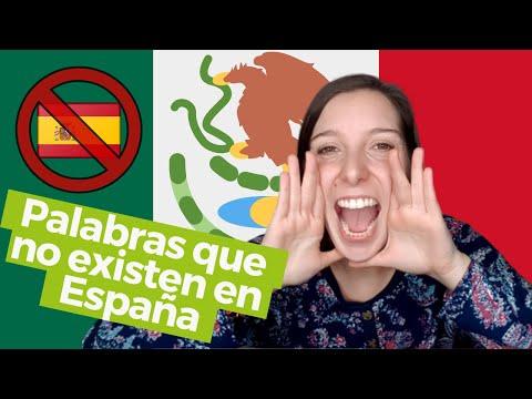 Estas palabras de Mxico no existen en Espaa || Lady Avellana Viajes