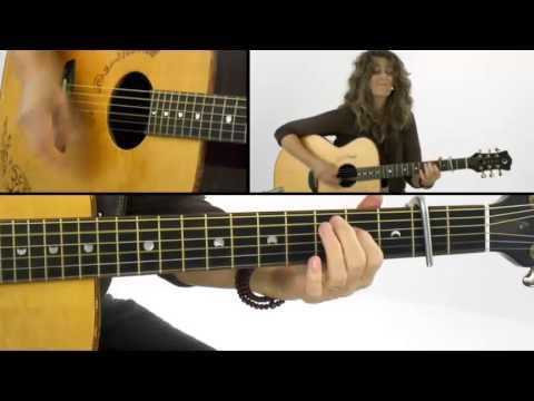 Open Tunings - #5 D sus 4 - Acoustic Guitar Lesson - Vicki Genfan