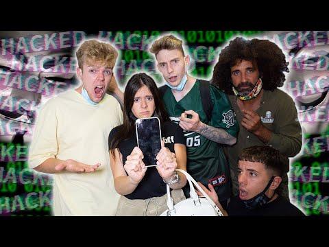 LE ROBAN TODAS LAS FOTOS INTIMAS A MI NOVIA EN EL INSTITUTO *le hackean el móvil*