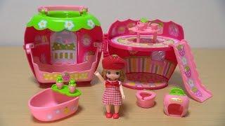 リカちゃん 3才のリカちゃんといちごのおへや / 3-year-old Licca-chan & The Cute Strawberry House! thumbnail