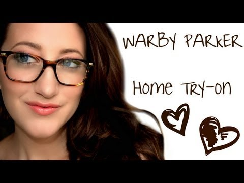 Warby Parker Home Try-On | Megan McTaggart - YouTube  Warby Parker Ho...