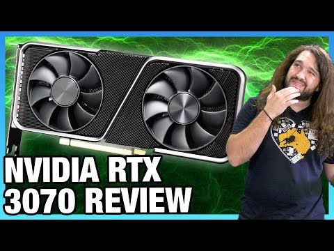 NVIDIA GeForce RTX 3070 Founders Edition Review: Gaming, Thermals, Noise, & Power Benchmarks