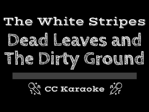 The White Stripes   Dead Leaves and the Dirty Ground CC Karaoke Instrumental