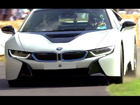 Bmw I8 Exclusive First Uk Drive Festival Of Speed 2014 Youtube