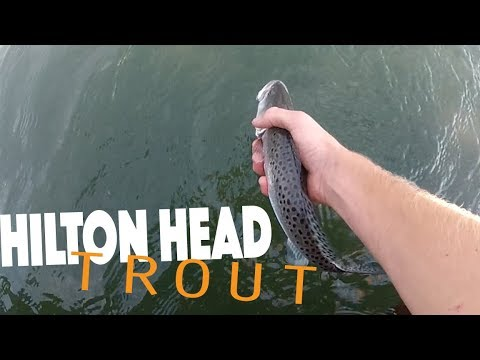 Hilton Head Island -Trout Fishing