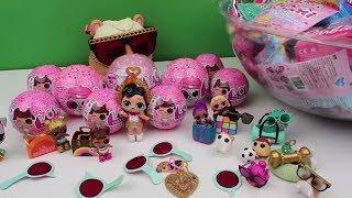 LOL Sürpriz Yeni Eye Spy Oyuncak Bebekler challenge !! LOL Surprise Blind Bag BidünyaOyuncak