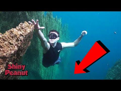 Ketika Terjatuh Kedalam Jurang Bawah Laut, Inilah yang Terjadi...