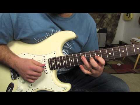 Pink Floyd - Another Brick in the Wall  - How to play the Guitar Solo - Guitar Lesson