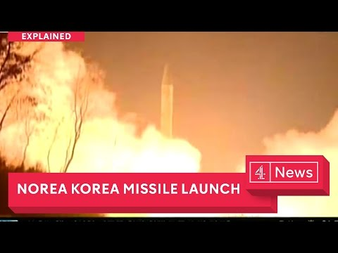 Thumbnail: North Korea's new missile launch - as South gets new leader