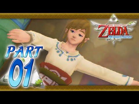 The Legend of Zelda: Skyward Sword - Part 1 - Skyloft