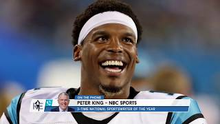 Peter King on Cam Newton's Future & Panthers' QB Options | The Rich Eisen Show | 2/21/20