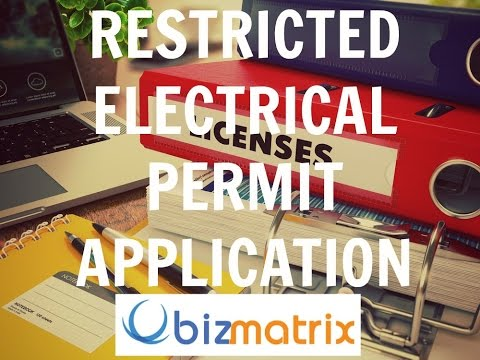 REL Form 21 Permit Application