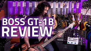 BOSS GT-1B Bass Effects Processor Demo & Review