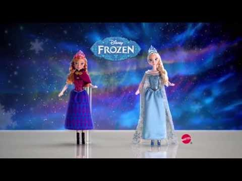 Disney Frozen Musical Magic Doll Assortment | Mattel