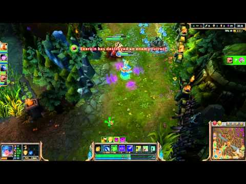League of Legends Let's Play [1080p HD] - Sona Support #2 - Ep. 47
