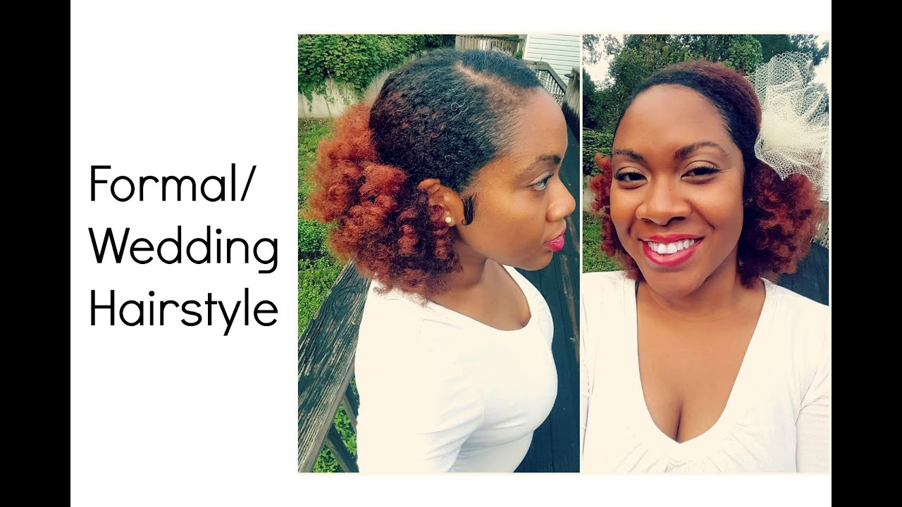 Wedding and Formal Hairstyle on Natural Hair | Naturally ...