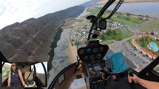 Helicopter Flight to Crescent Bar