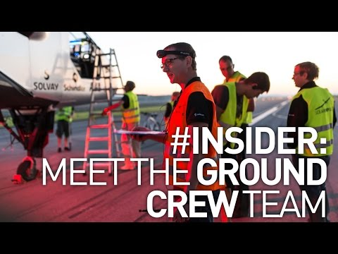 Solar Impulse 2 Test Flight - Meet the Ground Crew Team - #Insider