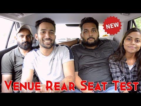 Hyundai Venue Rear Seat Test | Kitne log baith sakte hai Venue mein? The Real Truth