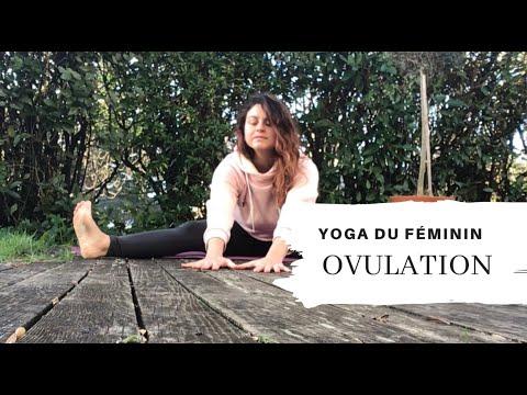 Yoga et ovulation  / yoga du féminin / cycle féminin