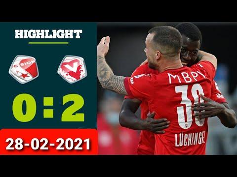 Sion Vaduz Goals And Highlights