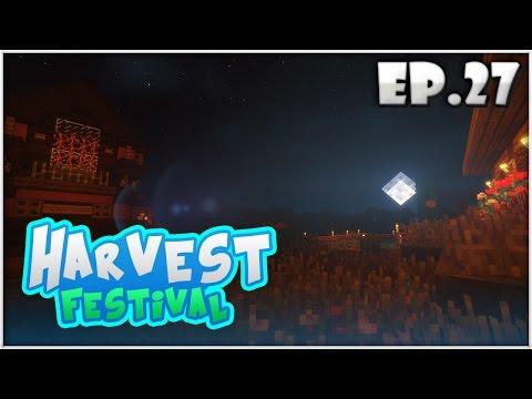 Harvest Festival EP.27 | ต้องสร้างเมืองให้เสร็จ!! (Minecraft Harvest Moon)